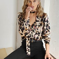 Chester Leopard Shirt
