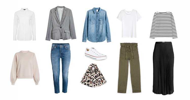 Spring staples on a budget