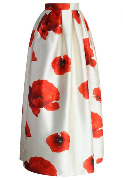 Chicwish Poppy skirt