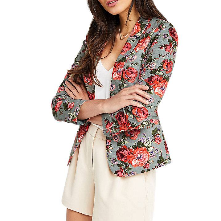 Oasis Floral Jacket at John Lewis