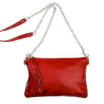 The Foundry Design Red Tassel Bag