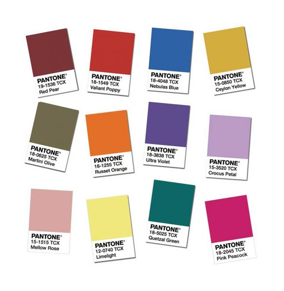Shop the Pantone colours for AW18/19