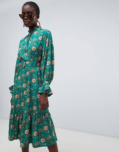 Vero Moda Green Asos Dress