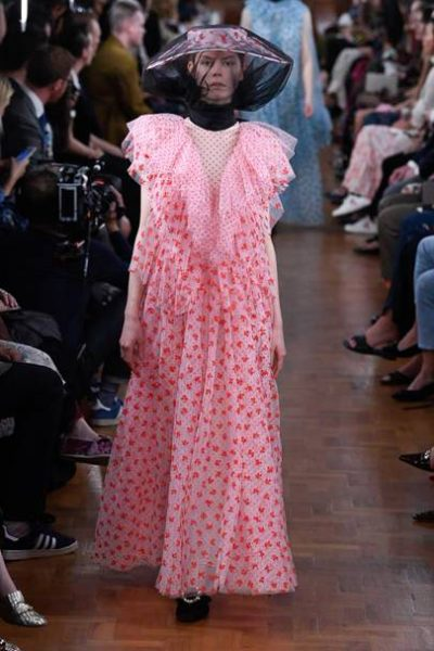SS19 Erdem Big Shoulders