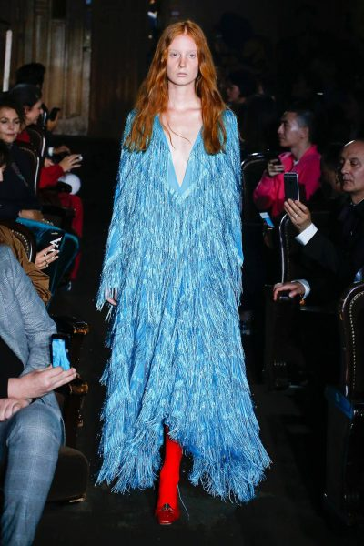 Gucci Fringe Dress SS19