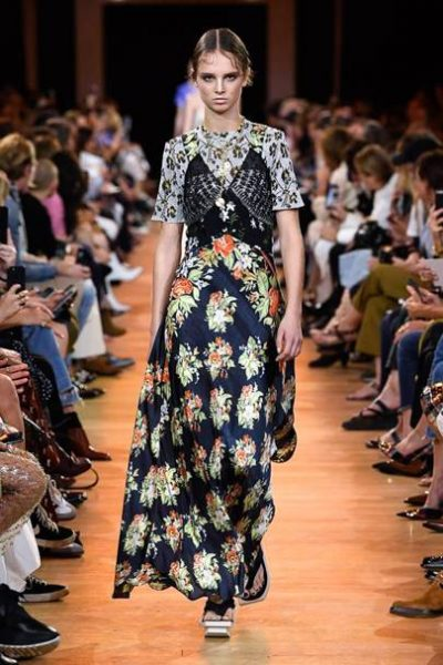 SS19 Print and Florals Catwalk