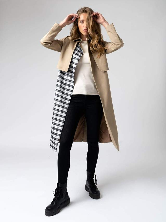 Saint and Sofia Trench Coat